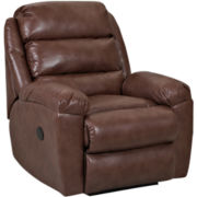 Lanier Faux-Leather Recliner