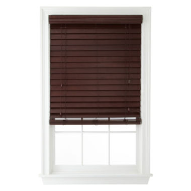 "jcpenney.com | JCPenney Home™ 2½"" Wood Blinds"