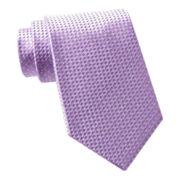 Van Heusen® Mini Box Silk Tie - Extra Long