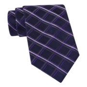 Stafford® Oceanside Grid Silk Tie
