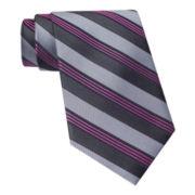 Claiborne® Highway Stripe Tie