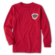 Joe Fresh™ Long-Sleeve Henley Top - Boys 4-14