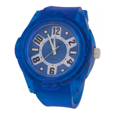 jcpenney.com | Zunammy® Mens Blue Silicone Watch