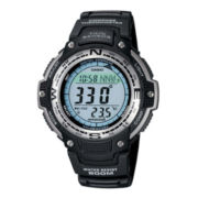 Casio® Twin Sensor Mens Compass/Thermometer Solar Watch SGW100-1V