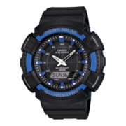 Casio® Tough Solar Illuminator Mens Analog/Digital Sport Watch ADS800WH-2A2
