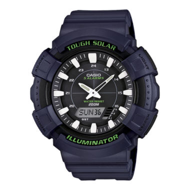 jcpenney.com | Casio® Tough Solar Illuminator Mens Analog/Digital Sport Watch ADS800WH-2AV