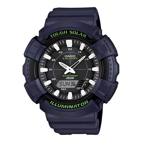 Casio® Tough Solar Illuminator Mens Analog/Digital Sport Watch ADS800WH-2AV
