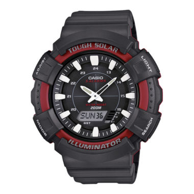 jcpenney.com | Casio® Tough Solar Illuminator Mens Analog/Digital Sport Watch ADS800WH-4AV