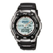 Casio® Active Dial Illuminator Mens Analog/Digital Sport Watch AQW101-1ACF