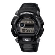 Casio® G-Shock Mens Black Nylon Strap Sport Watch