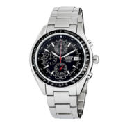 Casio® Edifice Mens Stainless Steel Chronograph Watch