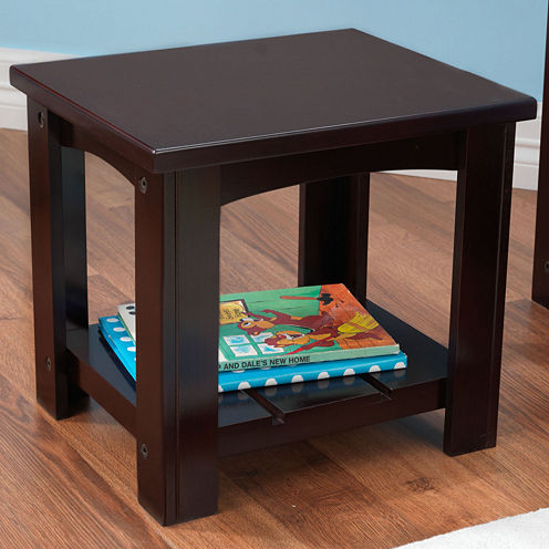 KidKraft® Addison Bedside Toddler Table - Espresso