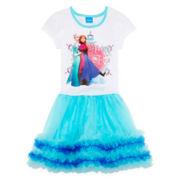 Disney Frozen Sisters Tutu Dress - Girls 4-6x