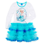 Disney Frozen Sisters Tutu Dress - Girls 4-6x