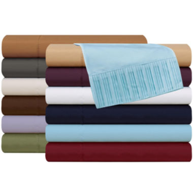 jcpenney.com | Luxury Collection Pleated Microfiber Sheet Set