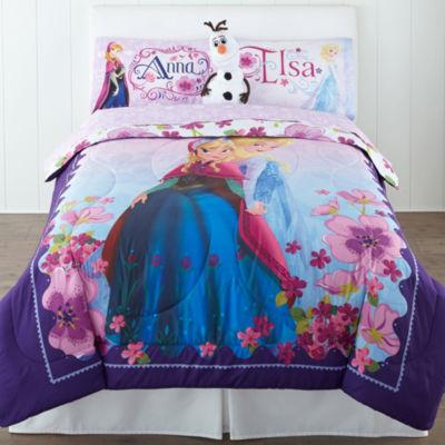 Disney Frozen Celebrate Love Reversible Comforter