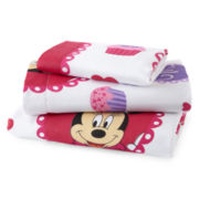 Disney Minnie Mouse Sweet Treats Twin Sheet Set