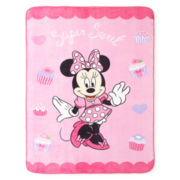 Disney Minnie Mouse Sweet Treats Blanket