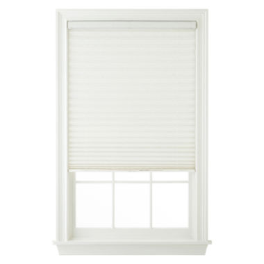 jcpenney.com | JCPenney Home™ Custom Woodruff Cordless Pleated Shade