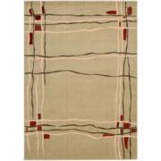 Nourison® Wavy Lines Rectangular Rug