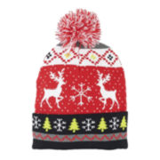 U.S. Polo Assn.® Reindeer Knit Beanie