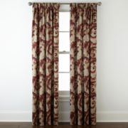 Home Expressions™ Tuscany Scroll Room-Darkening Rod-Pocket Curtain Panel