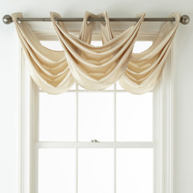 jcpenney.com | Royal Velvet® Hilton Grommet-Top Waterfall Valance