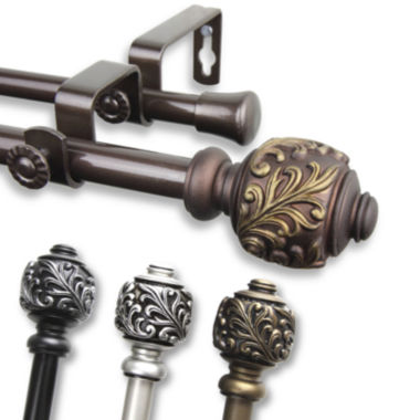 "jcpenney.com | Tilly ⅝"" Adjustable Curtain Rod Collection"