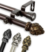 """Bud 13/16"""" Adjustable Curtain Rod Collection"""