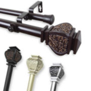 "Margot 1"" Adjustable Curtain Rod Collection"