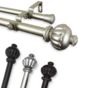 "Selma 1"" Adjustable Curtain Rod Collection"