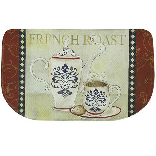 Bacova French Roast Memory Foam Rug