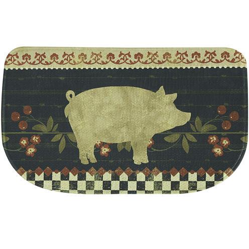 Bacova Retro Pig Memory Foam Rug