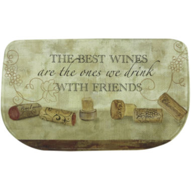 jcpenney.com | Bacova Wine with Friends Memory Foam Rug