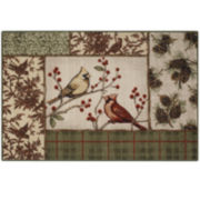 Natures Melody Rectangular Rug