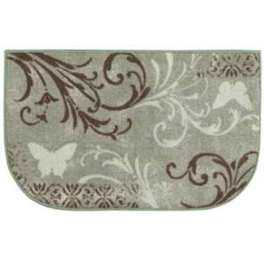 jcpenney.com | Butterfly Scroll Wedge Rug