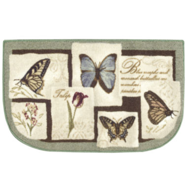 jcpenney.com | Butterfly Collage Wedge Rug