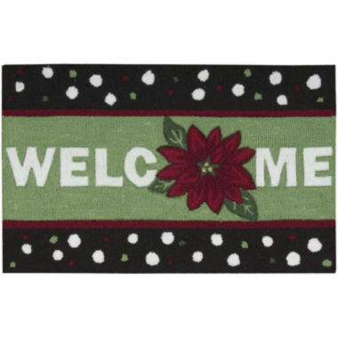 jcpenney.com | Nourison® Welcome Holiday Hand-Hooked Rectangular Rug