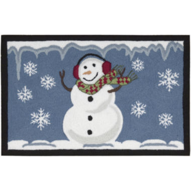 jcpenney.com | Nourison® Smiling Snowman Hand-Hooked Rectangular Rug