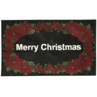 jcpenney.com | Nourison® White Merry Christmas Rectangular Rug