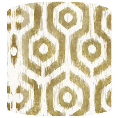 jcpenney.com | Gold Tribal Pattern Drum Lamp Shade