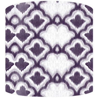 jcpenney.com | Purple Cloud Pattern Drum Lamp Shade