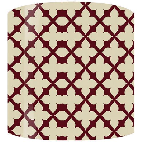 Quad Pattern Drum Lamp Shade