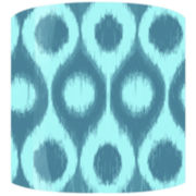Pool Ripples Drum Lamp Shade