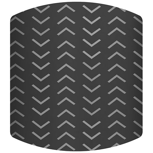 Tire Tracks Drum Lamp Shade
