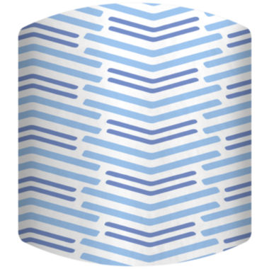 jcpenney.com | Blue Lines Long Drum Lamp Shade