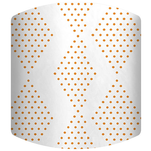 Dotted Diamond Drum Lamp Shade