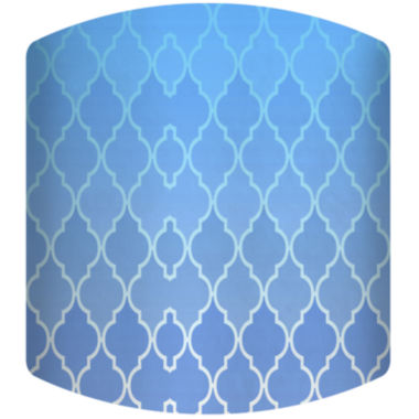 jcpenney.com | Blue Gradient Pattern Drum Lamp Shade