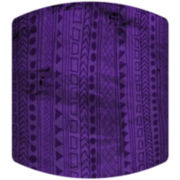 Purple Jungle Drum Lamp Shade