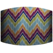 Zigzag Drum Lamp Shade